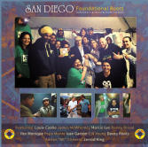 Various - San Diego Foundational Roots (Log On!!) LP